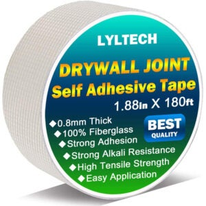 The Best Drywall Tape Options: LYLTECH Drywall Joint Tape