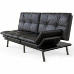 The Best Futon Option: Milemont Futon Sofa Bed Memory Foam Couch Sleeper Daybed