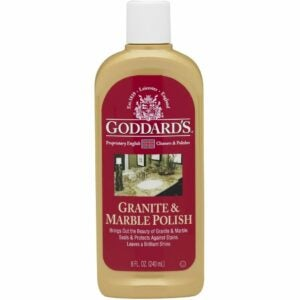 The Best Granite Cleaner Option: Goddards Granite & Marble Polish