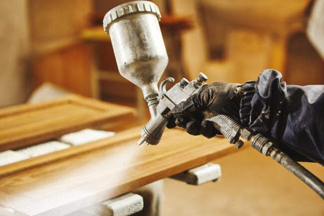 The Best Paint Sprayer for Cabinets