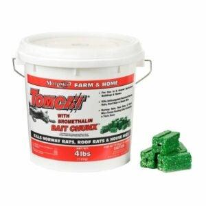 The Best Rat Poison Option: Tomcat Bait Chunx Pail, 4 LB
