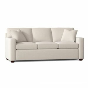 """The Best Sleeper Sofa Option: Lesley 87"""" Square Arm Sofa Bed"""