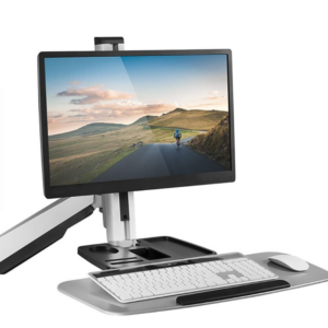 The Best Standing Converter Options: Mount-It! Sit Stand Wall Mount Workstation