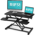 The Best Standing Desk Converter Options: RIF6 Adjustable Height Standing Desk Converter