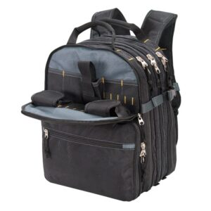 The Best Tool Backpack Options: Custom Leather Craft 75-Pocket Tool Backpack