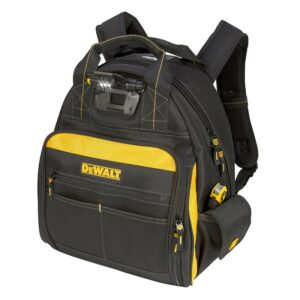The Best Tool Backpack Options: DEWALT Lighted Tool Backpack