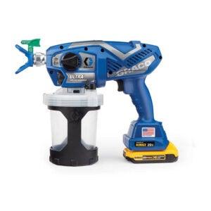 The Best Airless Paint Sprayer Option: Graco Ultra Cordless Airless Handheld Paint Sprayer 17M363