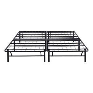 The Best Bed Frame Option: Olee Sleep 14 Inch Foldable Metal Platform Bed Frame