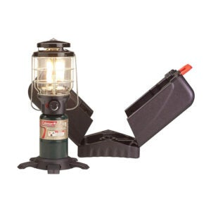 The Best Camping Lantern Option: Coleman Deluxe PerfectFlow Propane Lantern