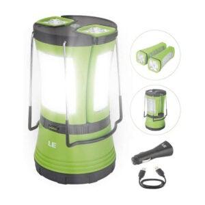 The Best Camping Lantern Option: LE LED 600 Lumens Camping Lantern