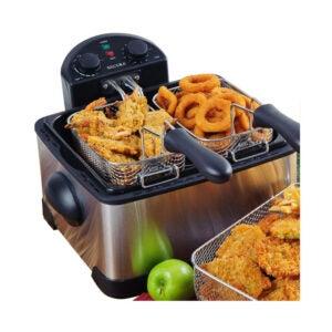 The Best Deep Fryer Option: Secura Triple Basket Electric Deep Fryer