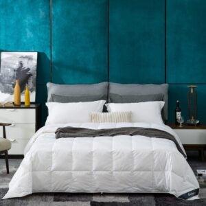 The Best Down Comforter Option: Globon White Goose Down Comforter / Blanket