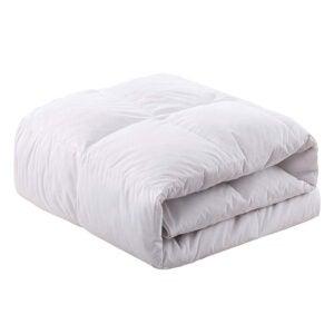 The Best Down Comforter Option: WhatsBedding White Goose Duck Down Comforter