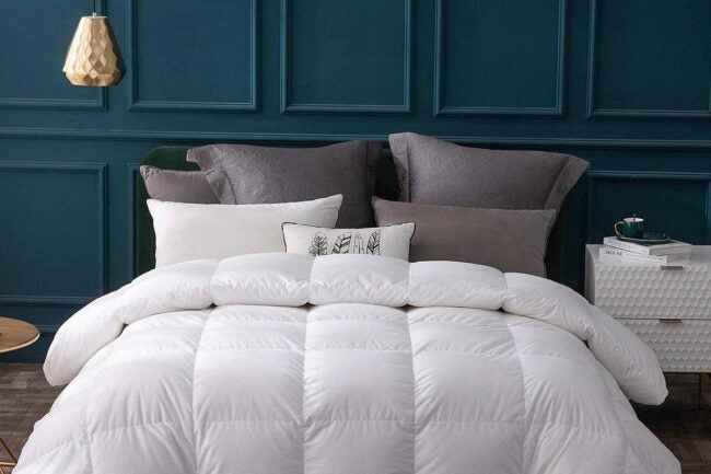 The Best Down Comforter Options