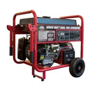 The Best Dual Fuel Generator Option: All Power America APGG10000GL 10000 Watt Generator