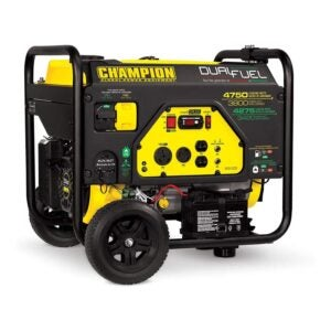 The Best Dual Fuel Generator Option: Champion 3800-Watt Dual Fuel Portable Generator