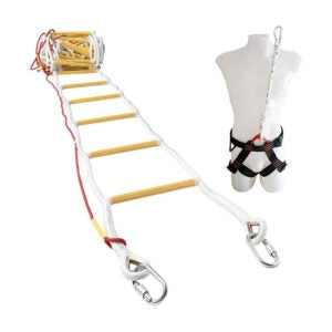 The Best Fire Escape Ladder Option: ISOP Fire Evacuation Rope Ladder with Safety Harness