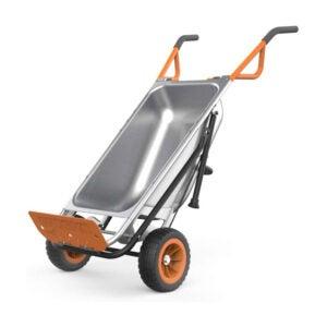 The Best Garden Cart Option: WORX Aerocart 8-in-1 Wheelbarrow Yard Cart Dolly