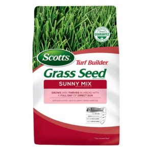 The Best Grass Seed Options: Scotts Turf Builder Grass Seed Sunny Mix