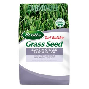 The Best Grass Seed Options: Scotts Turf Builder Zoysia Grass Seed and Mulch
