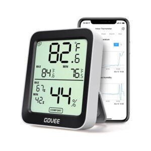 The Best Hygrometer Option: Govee Thermometer Hygrometer