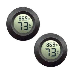 The Best Hygrometer Option: JEDEW 2-Pack Mini Hygrometer
