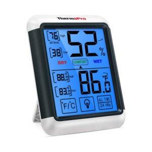 The Best Hygrometer Option: ThermoPro TP55 Digital Hygrometer