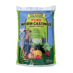 The Best Organic Fertilizer Option: Wiggle Worm Worm Castings Soil Builder