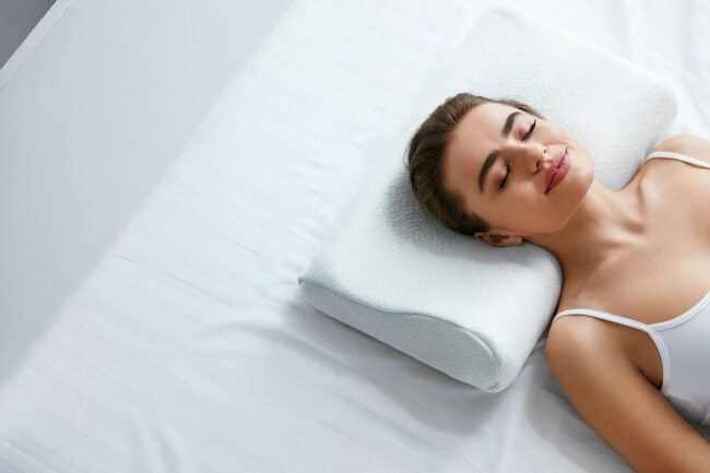 Pillow Memory Foam Removable Non-Allergenic economic offer