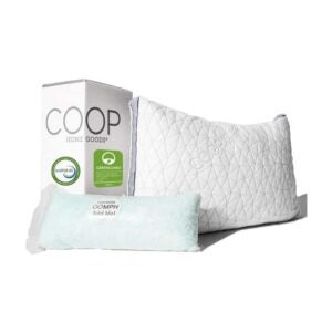 The Best Pillow for Neck Pain Option: Coop Home Goods Eden Adjustable Loft Pillow