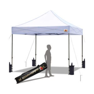 The Best Pop-Up Canopy Option: ABCCANOPY Pop up Canopy Tent, 10x10
