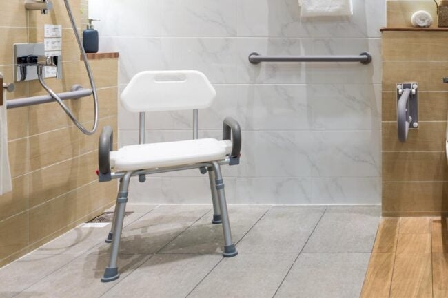 The Best Shower Chair Option