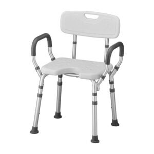 The Best Shower Chair Option: NOVA Shower and Bath Chair with Back & Arms