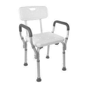 The Best Shower Chair Option: Vaunn Medical Tool-Free Assembly Shower Lift Chair