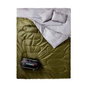 The Best Sleeping Bag Option: Sleepingo Double Sleeping Bag