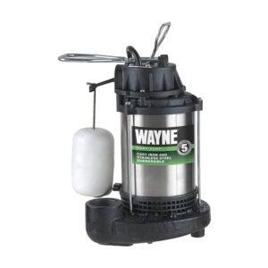 The Best Sump Pump Option: WAYNE CDU1000 1 HP Submersible Sump Pump