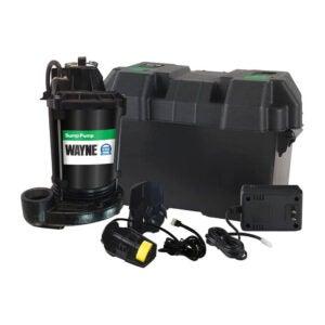 The Best Sump Pump Option: Wayne ESP25 12-Volt Battery Backup System