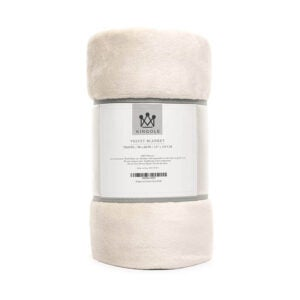 The Best Throw Blanket Option: Kingole Flannel Fleece Microfiber Throw Blanket