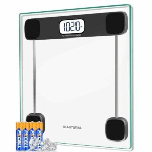 The Best Bathroom Scale Option: Beautural Precision Digital Bathroom Scale