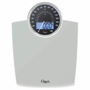 The Best Bathroom Scale Option: Ozeri Rev Bathroom Scale with Electro-Mechanical Weight Dial