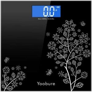 The Best Bathroom Scale Option: Yoobure Weight Scale with Tempered Glass