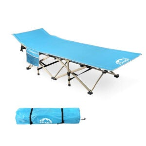 Best Beach Chairs Options: ARAER Camping Cot, 450LBS(Max Load)
