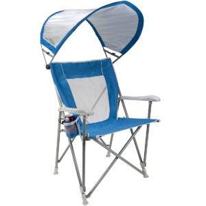 Best Beach Chairs Options: GCI Outdoor Waterside SunShade Folding Captain's Beach Chair