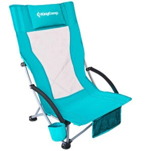 Best Beach Chairs Options: KingCamp Low Sling Beach Chair