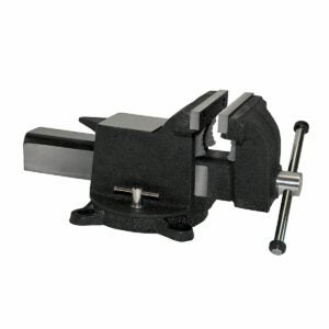 "The Best Bench Vise Option:Yost Vises 908-AS 8"" Heavy Duty Steel Bench Vise"