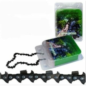 """The Best Chainsaw Chain Option: Forester Chainsaw Chain Loop, 24"""" Full Chisel"""