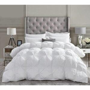 The Best Comforter Option: Luxurious All-Season Goose Down Comforter Duvet Insert