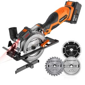 Best Cordless Circular Saw Options: EnerTwist 20V Max