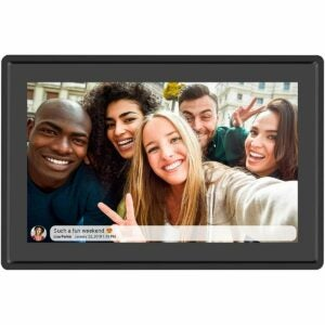 The Best Digital Picture Frame Option: Feelcare 10 Inch Digital Picture Frame Touch Screen