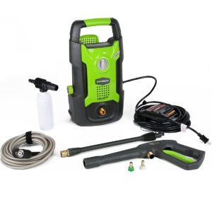 Best Electric Pressure Washer Options: Greenworks 1500 PSI 13 Amp 1.2 GPM Pressure Washer